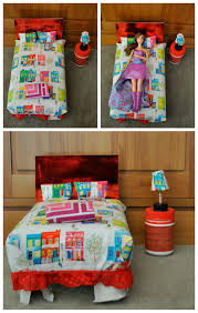 Barbie Beds Diy Barbie Bed Out Of A Shoebox Or Cereal Box Be Fun Mum Msexta