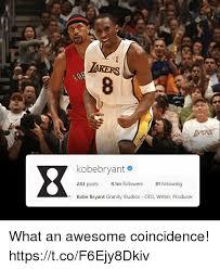 Kobe Bryant Injury Meme - iakers kobebryant 243 posts 81m followers 81 following kobe