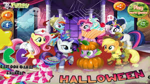 halloween game party my little pony halloween party my little pony party game youtube