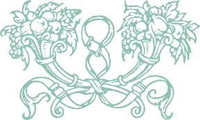 free stock vector clip decorative cornucopia ornament oh