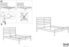 Heimdal Bed Frame Handleiding Ikea Heimdal Bedframe Pagina 1 2 Dansk