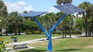 solar trees sprout across florida in push to promote solar energy