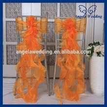 cheap sashes for chairs popular orange chair sashes buy cheap orange chair sashes lots
