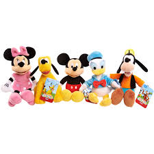 Mickey Mouse Clubhouse Bedroom Set Disney Mickey Mouse Clubhouse Plush Characters 5 Pack Walmart Com
