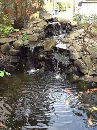 Homemade Backyard Waterfalls by Best 25 Pond Waterfall Ideas Only On Pinterest Diy Waterfall