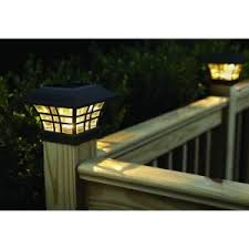 Best  Deck Post Lights Ideas On Pinterest Deck Posts - Home depot deck lighting
