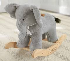 home depot rocking horse black friday nursery elephant plush rocker pottery barn kids