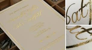 printing wedding invitations lovely gold foil printing wedding invitations or wedding