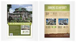 home design brand myrtle custom printing flyer brochure menu design