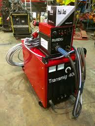 reconditioned murex transmig 305 mig welder used machines