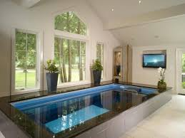 small indoor pool designs tips to build a modern house with