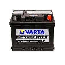varta promotive black c20â â 12â volt 55â ah 420â a en rf vehicle