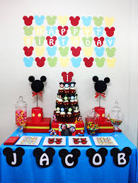 mickey mouse birthday awesome mickey mouse 1st birthday party ideas margusriga baby