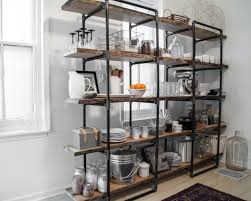 home spice decor industrial shelves designs to spice up every home decor