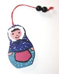 nesting doll ornament wooden ornament winter tale russian