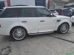 white range rover sport foreign used tokunbo range rover sports white cars