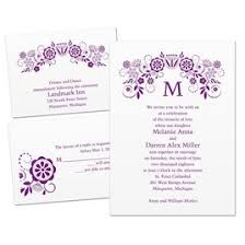 wedding invitations 1 3 for 1 wedding invitations invitations by