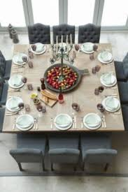Centerpiece For Dining Table by Best 25 Square Dining Tables Ideas On Pinterest Custom Dining