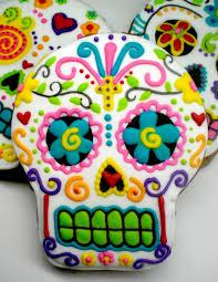 Dia De Los Muertos Home Decor Dia De Los Muertos Skull Cookies Cakecentral Com