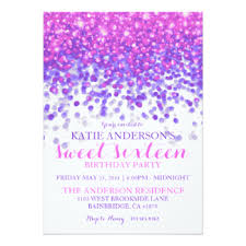 sweet sixteen invitations cimvitation