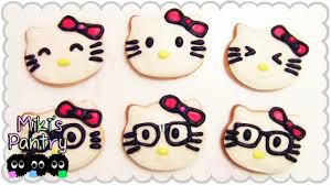 hello kitty cookies youtube