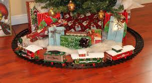 train set for christmas tree christmas 2017 and tree