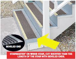 stairmaster safety renovation treads wooster products inc