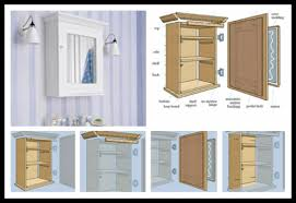 bathroom wall cabinet plans home design and decorating diy best 20