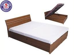 Double Cot Bed Sheets Online India Buy Barcelona Queen Bed With Storage Online In India