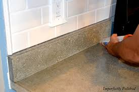 How To Build A Concrete Bar Top Diy Concrete Counters Sand Seal Wax And Enjoy