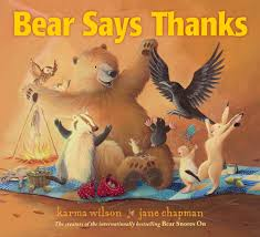 what is the story of thanksgiving a wonderful kids yoga class plan based on the story bear says