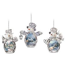 kinkade ornament collections