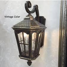 outdoor wall lantern lights rustic iron waterproof outdoor wall l vintage kerosene lantern