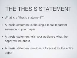 what is the thesis statement literature and composition ppt video online download
