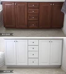 How To Update Old Kitchen Cabinets Kitchen Cabinet Update We Took Our Old 70s Cabinets And Gave Them