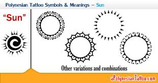 polynesian tattoo symbols u0026 meanings u2013 sun