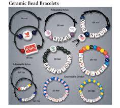 bracelet name beads images Custom logo imprint beads name beads alphabet letter beads jpg