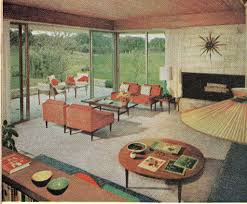 living room 1960 from the american home august 1960 ethan