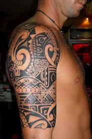 45 best maori shoulder tattoo shield designs images on pinterest