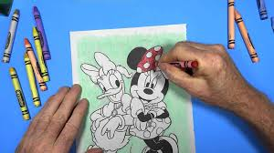coloring book minnie mouse daisy duck
