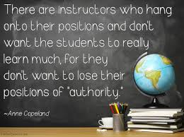 quote einstein authority there are instructors who hang onto their positions and don u0027t want