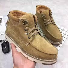 biker boots brands wholesale winter snow boots brand men sheepskin leathe waterproof