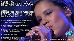 Vote Idol Tristan Mcintosh Makes Top 10 On American Idol Williamson Source