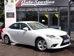 lexus used buy used 2014 lexus is 300h se sat nav reverse camera for sale in