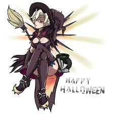 mercy halloween background witch mercy overwatch know your meme