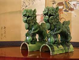 green foo dogs merchandise archive ark antiques