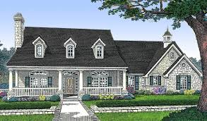 three bedroom house plan country style 48153fm architectural