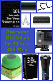 best gift ideas for 20 year old men hubpages