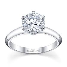 6 prong engagement ring vatche classic 6 prong solitaire vatche engagement rings designers