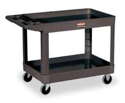 rubbermaid service cart with cabinet rubbermaid cart ebay